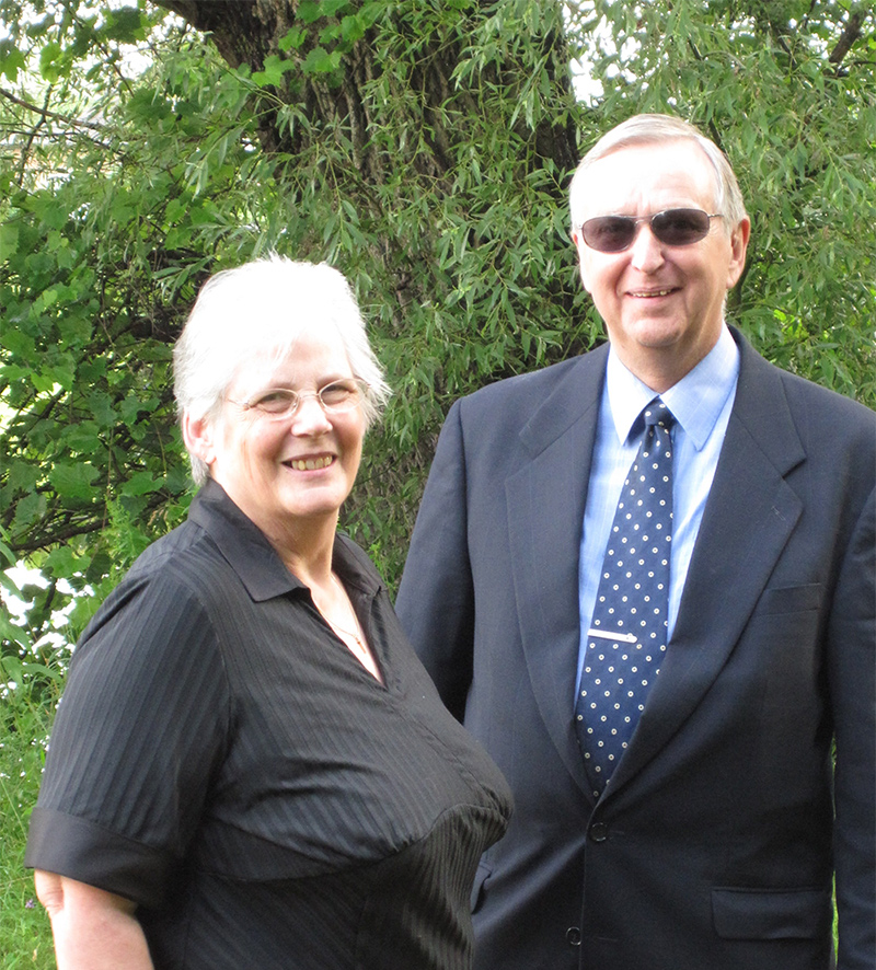 Chaplain Ken and Karen Carter